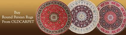 Round Persian Rug Round Persian Rugs Buy Authentic Round Persian Rugs At Oldcarpet
