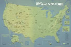 Yahoo Maps And Driving Directions Map Shows The Ultimate Us National Park Road Trip In Honor Of