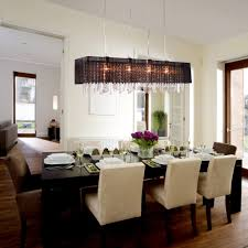 long dining room light fixtures linear chandelier with shade rustic orb crystals candle rectangular