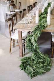 Some Simple Tips For Decorating Round Tables by Best 25 Wedding Table Garland Ideas On Pinterest Wedding Table