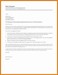 Cover Letter Web Developer 100 Sample Resume Cover Letter For Software Engineers Cover