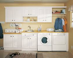 Storage Organization by Interior Seamless Laundry Room Idea With Concrete Cabinets And