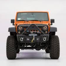 jeep stinger bumper amazon com gsi black textured rock crawler stinger front bumper