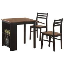 3 Piece Dining Room Set by Counter Height Square 3 Piece Dining Set Aptdeco