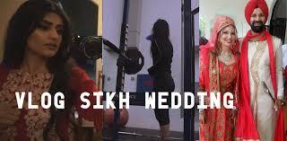 vlog big sikh fusion wedding leg day footage youtube