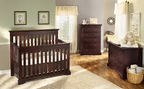 Vintage Nursery Furniture Sets Simple Beige Nursery Room Combined With Spacious Baby Furniture