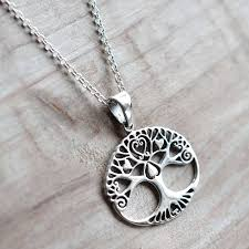 love necklace sterling silver images Sterling silver tree of love necklace by martha jackson sterling jpg
