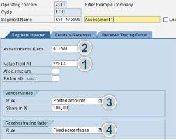 Sap Copa Resume Sap Co Pa Cost Center Assessments