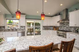 unique countertops kitchen houston outdoor kitchen with silver travertine tile