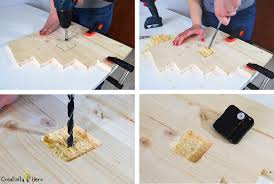 Step2 Creative Projects Table How To Make A Modern Wooden Clock Diy Project Creativity Hero