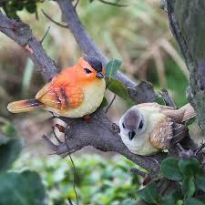 garden decoration resin birds home artificial bird resin animal