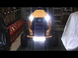 led tractor light bar how to wire in a led light bar on your cub cadet tractor youtube