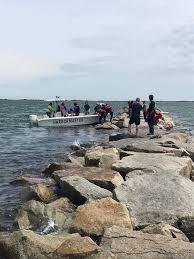 44 rescued from provincetown jetty following high tide news