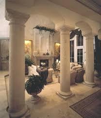 interior columns for homes decor with column white fabric columns interior mfbox co