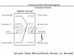 toyota electric e locker switches