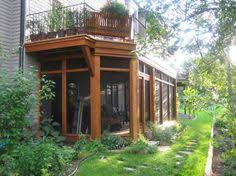 Replacing A Deck With A Patio This Is Perfect Porch U0026 Deck Shade The Underside Of An Elevated