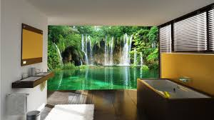 easy bathroom wall murals on home decoration planner with bathroom
