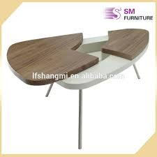 Pedestal Manufacturers Coffe Table Telescoping Coffee Table Walnut Wood Box With Black
