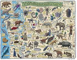 Map Of The State Of Washington by Large Detailed Tourist Illustrated Map Of Washington State