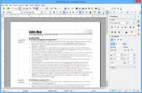 Resume Templates For Openoffice Free Download Download Openoffice 4 1 3 Norsk Gratis Her