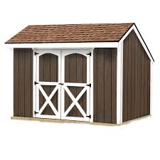 Lowes Sheds by Shop Best Barns Aspen Without Floor Saltbox Engineered Wood