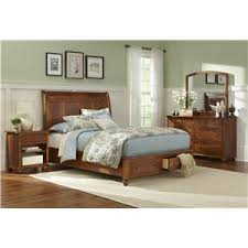 l j gascho furniture covington king storage bed with sleigh