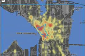 Maps Seattle by Walk Score Introduces Crime Maps Social Tags For Seattle