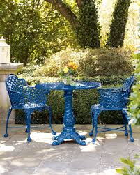 Blue Bistro Chairs Bistro In Blue 3 Everything Pinterest Tables 3 And Blue