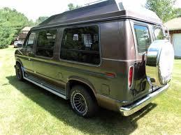 Conversion Van Accessories Interior 1988 Ford Custom Van 25 000 Original Mile Time Capsule Conversion Van