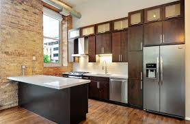 Kitchen With Brown Cabinets Small Kitchens With Dark Cabinets Design Ideas Designing Idea