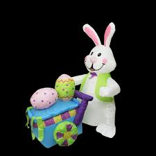giant jumbo inflate inflatable easter bunny rabbit