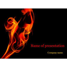 fire template powerpoint church powerpoint template tongues of