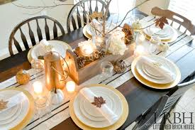 handmade thanksgiving tablescape brick house
