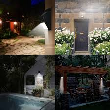 Best Solar Garden Lights Review Uk by Solar Lights For Garden Fence Home Outdoor Decoration