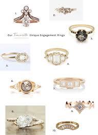 engagement rings unique our favorite unique engagement rings green wedding shoes