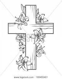 floral cross designs wrist floral cross flower tat cross