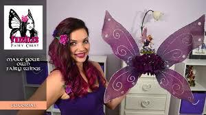diy fairy wings tutorial youtube