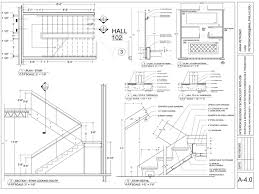 Stair Plan Construction Documents Office Conference Room On Behance