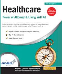Nc Durable Power Of Attorney by Healthcare Power Of Attorney U0026 Living Will Kit Enodare