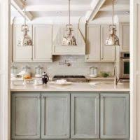 shabby chic kitchen island small kitchen decoration using tulip white glass light