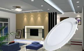 amazon com progreen 9w flat led panel light lamp dimmable round