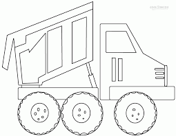 garbage truck coloring pages free coloring home