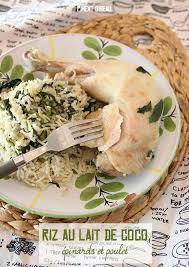 cuisiner avec un rice cooker recette au rice cooker 1 riz au lait de coco épinards et poulet