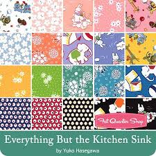 Everything But The Kitchen Sink Fat Quarter Bundle Yuko Hasegawa - Everything and the kitchen sink