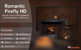 romantic firefly hd fireplace wallpaper u0026 themes amazon co uk