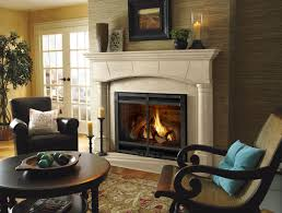 unique fireplaces ideas collection furniture exciting leather fireplace chairs