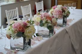 wedding flowers table ivory and vintage pink wedding flowers at botley mansion a line