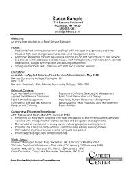 Food Industry Resume Examples by Event Manager Sample Resume Resume For Your Job Application