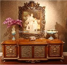 luxury french rococo style wood carved fabric sofa set palace