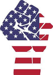 Big American Flags Clipart American Flag Fist